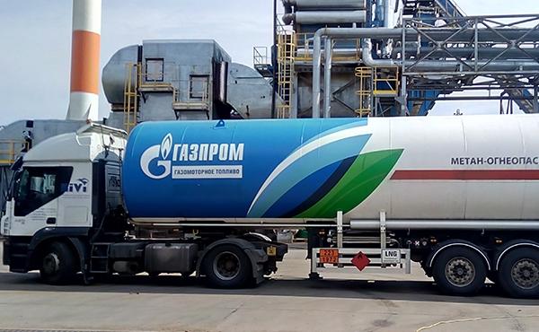 Описание природного газа.